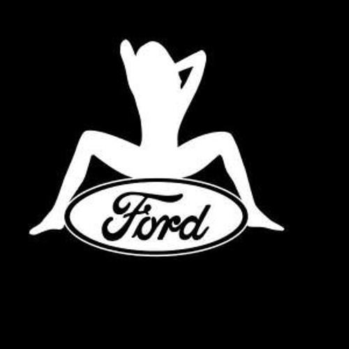 Ford Sexy Logo  Decal High glossy, premium 3 mill vinyl, with a life span of 5 - 7 years!