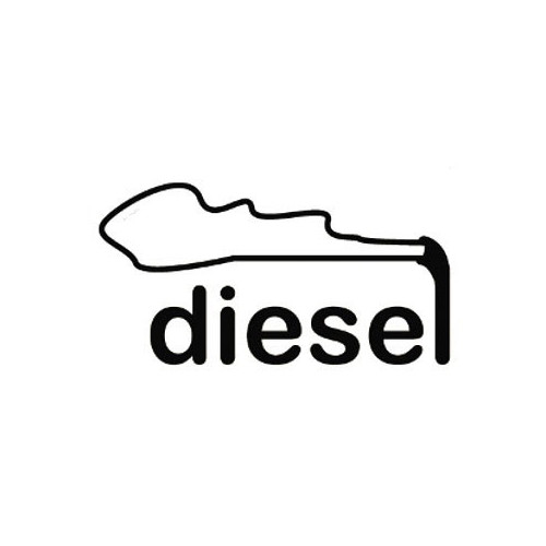 Diesel Stack  Vinyl Decal High glossy, premium 3 mill vinyl, with a life span of 5 - 7 years!