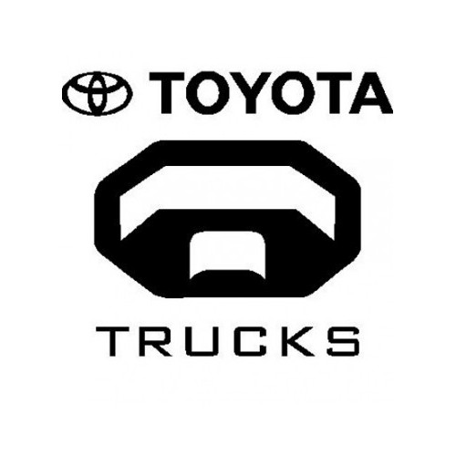 Toyota Trucks  Vinyl Decal High glossy, premium 3 mill vinyl, with a life span of 5 - 7 years!