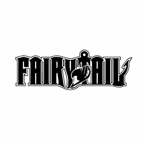 Fairy Tale Logo W_Font Vinyl Decal Sticker  Size option will determine the size from the longest side Industry standard high performance calendared vinyl film Cut from Oracle 651 2.5 mil Outdoor durability is 7 years Glossy surface finish