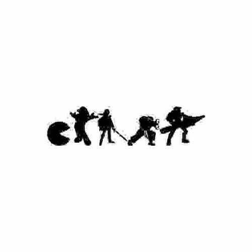 Evolutionary Video Game New  Vinyl Decal Sticker  Size option will determine the size from the longest side Industry standard high performance calendared vinyl film Cut from Oracle 651 2.5 mil Outdoor durability is 7 years Glossy surface finish