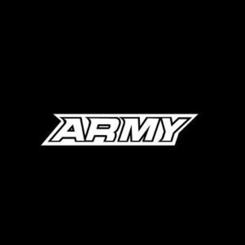 Army Black Knights  Decal High glossy, premium 3 mill vinyl, with a life span of 5 - 7 years!