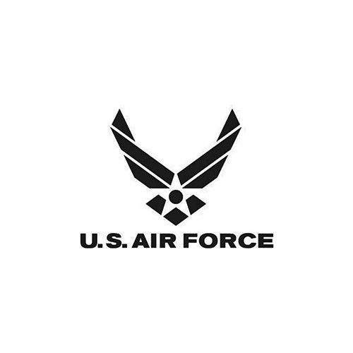 Air Force     Vinyl Decal High glossy, premium 3 mill vinyl, with a life span of 5 - 7 years!