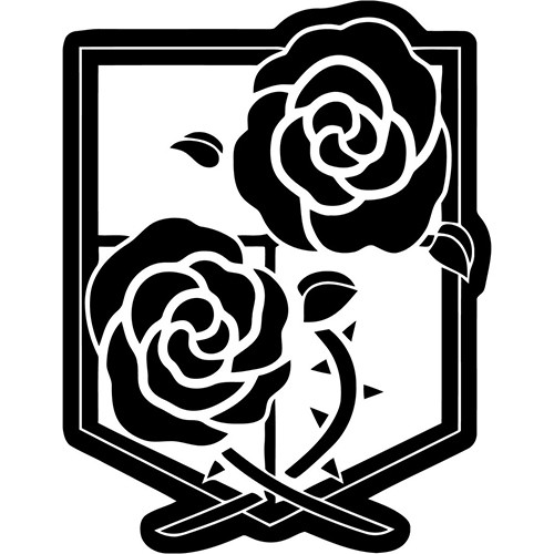 Attack on Titan SNK Garrison Seal Vinyl Decal <div> High glossy, premium 3 mill vinyl, with a life span of 5 – 7 years! </div>