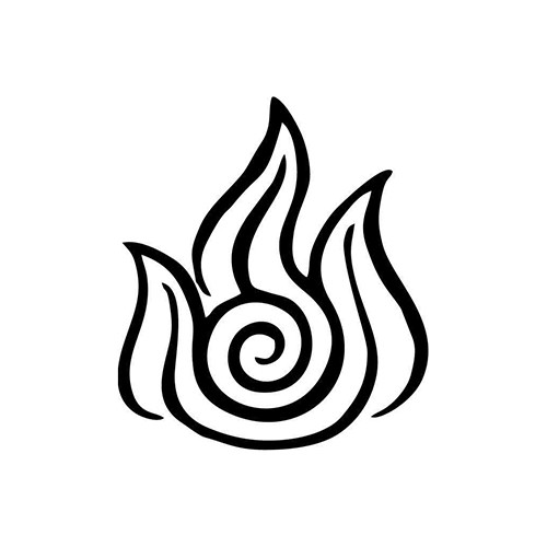 Avatar Fire Nation Vinyl Decal <div> High glossy, premium 3 mill vinyl, with a life span of 5 – 7 years! </div>