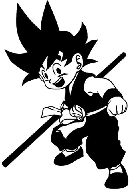 Dragon Ball Z Young Goku 2