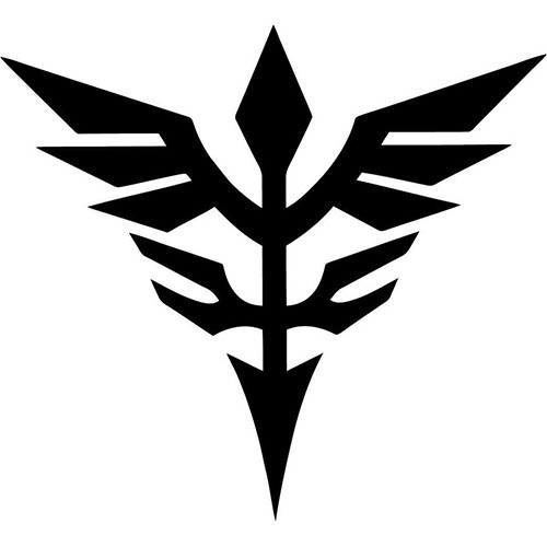 Gundam Neo Zeon Logo Vinyl Decal <div> High glossy, premium 3 mill vinyl, with a life span of 5 – 7 years! </div>
