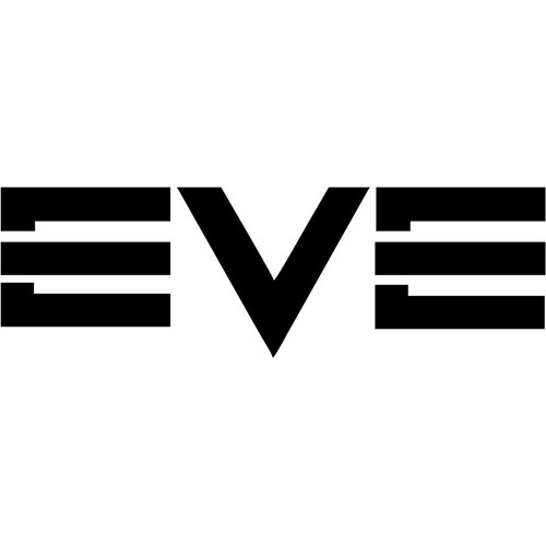Eve Logo  Vinyl Decal <div> High glossy, premium 3 mill vinyl, with a life span of 5 – 7 years! </div>