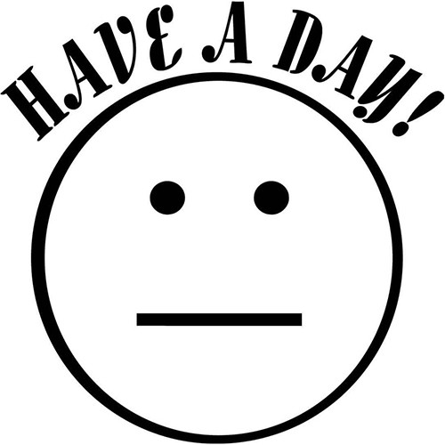 Have a day Fallout  Vinyl Decal <div> High glossy, premium 3 mill vinyl, with a life span of 5 – 7 years! </div>