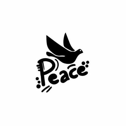 Dove Bird Peace  Vinyl Decal Sticker  Size option will determine the size from the longest side Industry standard high performance calendared vinyl film Cut from Oracle 651 2.5 mil Outdoor durability is 7 years Glossy surface finish