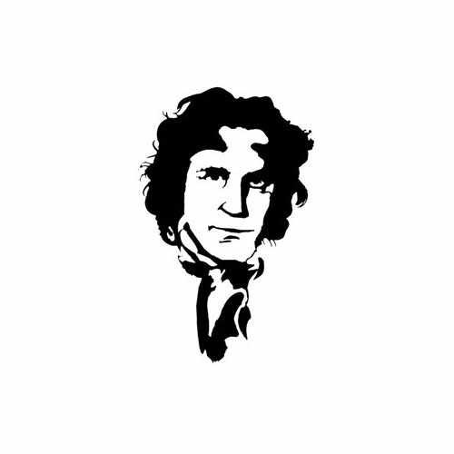 Doctor Who; Eighth Doctor  Vinyl Decal Sticker  Size option will determine the size from the longest side Industry standard high performance calendared vinyl film Cut from Oracle 651 2.5 mil Outdoor durability is 7 years Glossy surface finish
