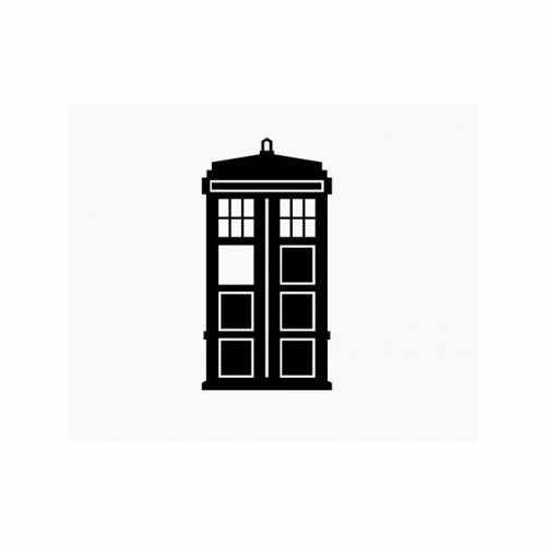 Doctor Who Tardis  Vinyl Decal Sticker  Size option will determine the size from the longest side Industry standard high performance calendared vinyl film Cut from Oracle 651 2.5 mil Outdoor durability is 7 years Glossy surface finish