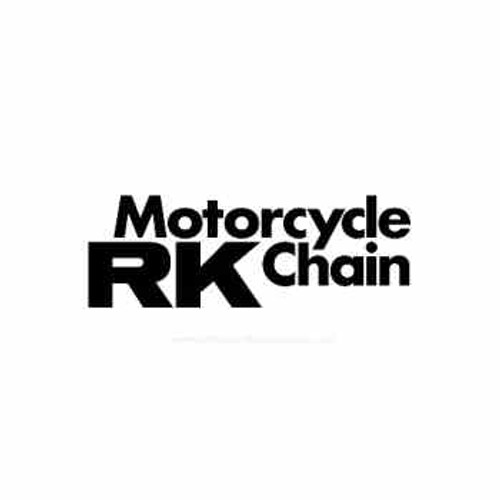 RK Chain Motorcycle Vinyl Decal Set High glossy, premium 3 mill vinyl, with a life span of 5 - 7 years!