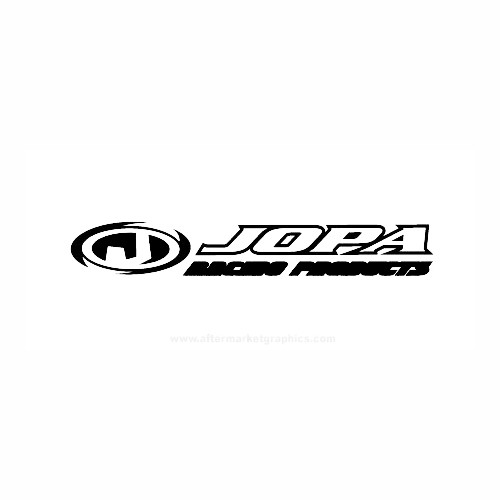 Jopa Racing Motorcycle Vinyl Decal Set High glossy, premium 3 mill vinyl, with a life span of 5 - 7 years!