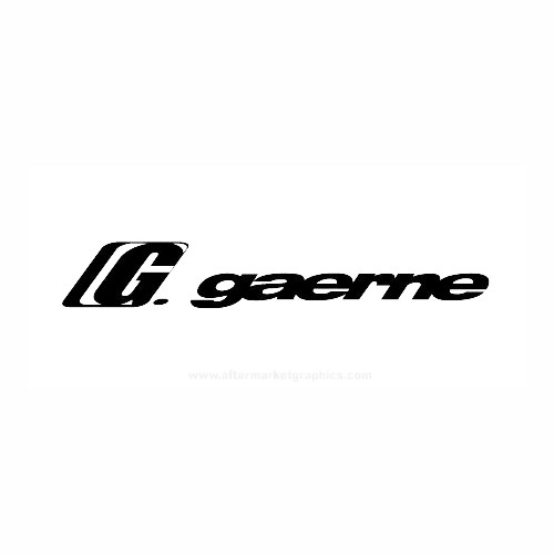 Gaerne Helmets Motorcycle Vinyl Decal Set High glossy, premium 3 mill vinyl, with a life span of 5 - 7 years!