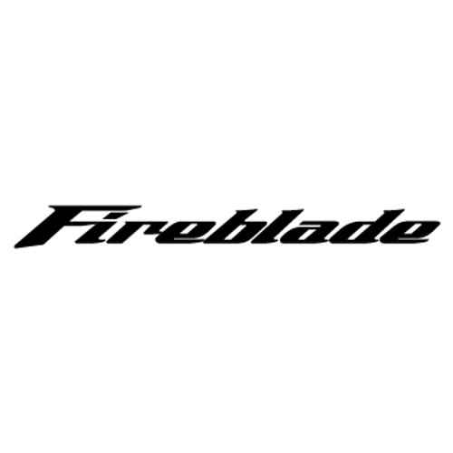 Honda Fireblade  Vinyl Decal High glossy, premium 3 mill vinyl, with a life span of 5 - 7 years!