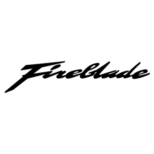 Honda Fireblade  Vinyl Decal 3 High glossy, premium 3 mill vinyl, with a life span of 5 - 7 years!