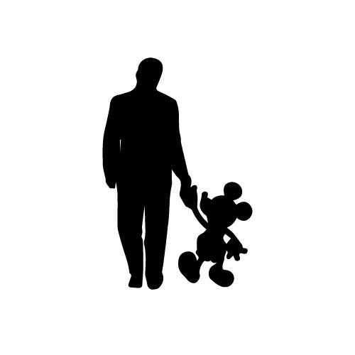 Disney Walt W_Mickey Vinyl Decal Sticker  Size option will determine the size from the longest side Industry standard high performance calendared vinyl film Cut from Oracle 651 2.5 mil Outdoor durability is 7 years Glossy surface finish