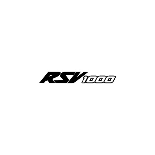 RSV1000 Aftermarket Decal High glossy, premium 3 mill vinyl, with a life span of 5 - 7 years!