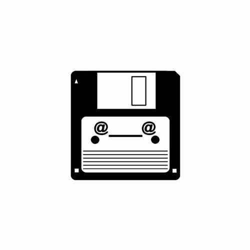 Diskette Sarcasm  Vinyl Decal Sticker  Size option will determine the size from the longest side Industry standard high performance calendared vinyl film Cut from Oracle 651 2.5 mil Outdoor durability is 7 years Glossy surface finish