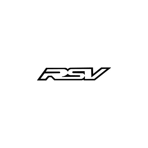 RSV Outline   Aftermarket Decal High glossy, premium 3 mill vinyl, with a life span of 5 - 7 years!
