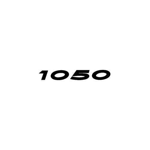 1050  Aftermarket Decal High glossy, premium 3 mill vinyl, with a life span of 5 - 7 years!