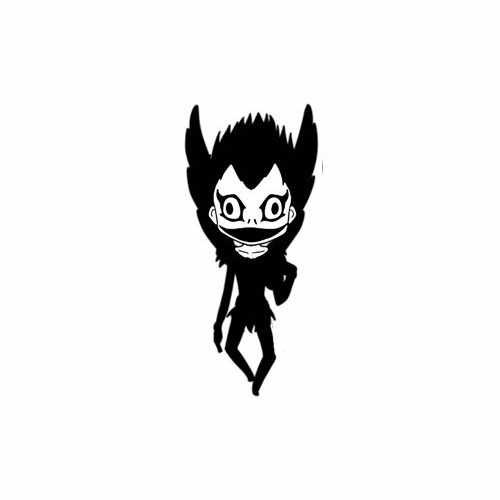 Death Note Baby Death  Vinyl Decal Sticker  Size option will determine the size from the longest side Industry standard high performance calendared vinyl film Cut from Oracle 651 2.5 mil Outdoor durability is 7 years Glossy surface finish