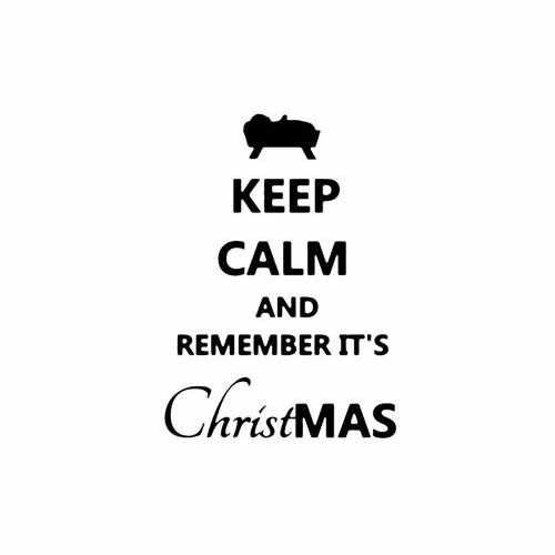 Keep Calm And Remember Its Christmas Vinyl Decal Sticker Size option will determine the size from the longest side Industry standard high performance calendared vinyl film Cut from Oracle 651 2.5 mil Outdoor durability is 7 years Glossy surface finish