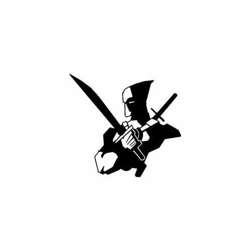 Deadpool  Vinyl Decal Sticker  Size option will determine the size from the longest side Industry standard high performance calendared vinyl film Cut from Oracle 651 2.5 mil Outdoor durability is 7 years Glossy surface finish