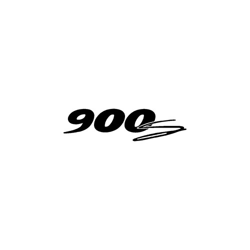 900s  Aftermarket Decal High glossy, premium 3 mill vinyl, with a life span of 5 - 7 years!