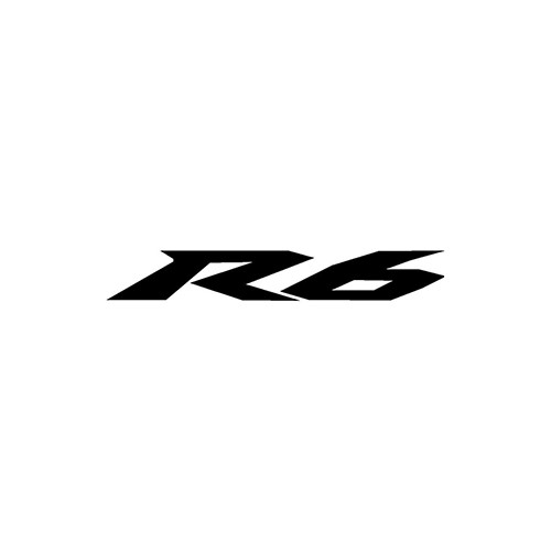 R6 NEW VERSION  Aftermarket Decal High glossy, premium 3 mill vinyl, with a life span of 5 - 7 years!