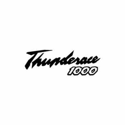 THUNDERACE 1000  Aftermarket Decal High glossy, premium 3 mill vinyl, with a life span of 5 - 7 years!