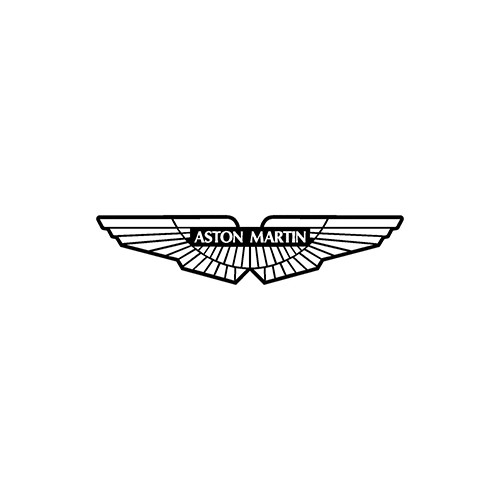 aston martin  Aftermarket Decal High glossy, premium 3 mill vinyl, with a life span of 5 - 7 years!