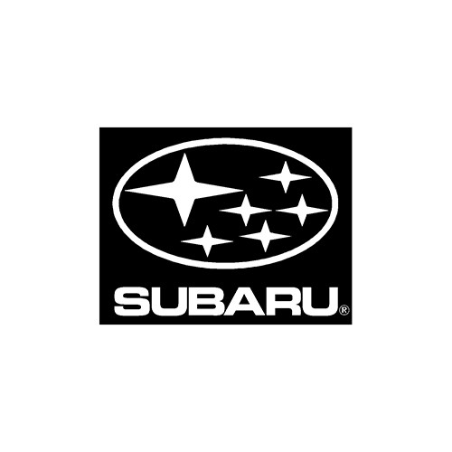 subaru  x1 Aftermarket Decal High glossy, premium 3 mill vinyl, with a life span of 5 - 7 years!