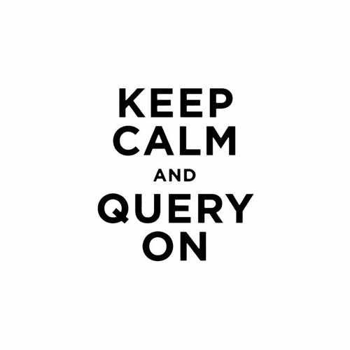 Keep Calm And Query On Vinyl Decal Sticker Size option will determine the size from the longest side Industry standard high performance calendared vinyl film Cut from Oracle 651 2.5 mil Outdoor durability is 7 years Glossy surface finish