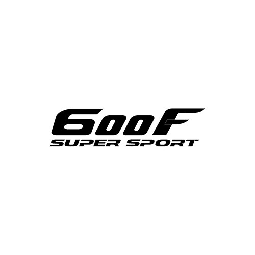 600F SUPERSPORT  Aftermarket Decal High glossy, premium 3 mill vinyl, with a life span of 5 - 7 years!