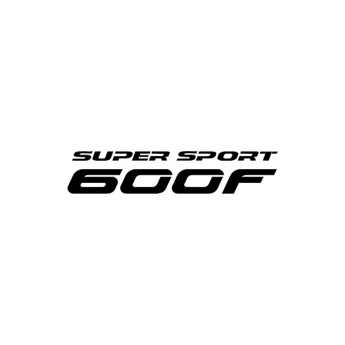 SUPERSPORT 600F  Aftermarket Decal High glossy, premium 3 mill vinyl, with a life span of 5 - 7 years!