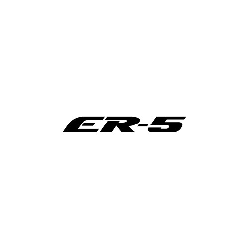 ER-5  Aftermarket Decal High glossy, premium 3 mill vinyl, with a life span of 5 - 7 years!