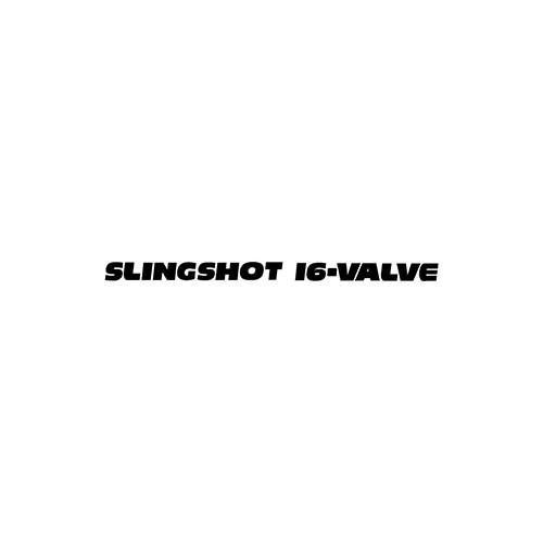 SLINGSHOT 16-VALVE Aftermarket Decal High glossy, premium 3 mill vinyl, with a life span of 5 - 7 years!