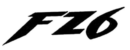 FZ6 ver2 Aftermarket Decal