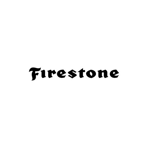 FIRESTONE  Aftermarket Decal High glossy, premium 3 mill vinyl, with a life span of 5 - 7 years!