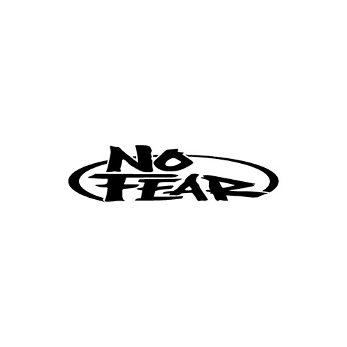 NO FEAR  ver4 Aftermarket Decal High glossy, premium 3 mill vinyl, with a life span of 5 - 7 years!