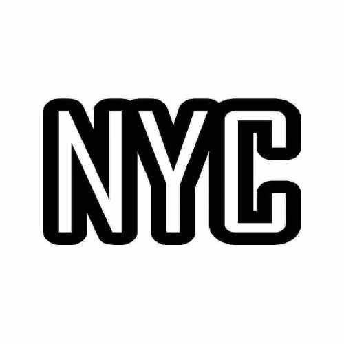 Citys Nyc  Vinyl Decal Sticker  Size option will determine the size from the longest side Industry standard high performance calendared vinyl film Cut from Oracle 651 2.5 mil Outdoor durability is 7 years Glossy surface finish