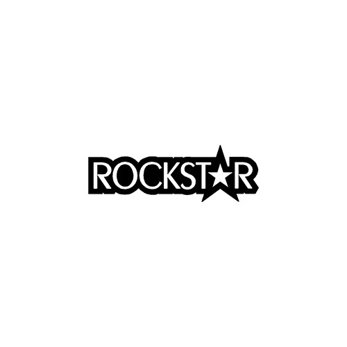 ROCKSTAR ver2  Aftermarket Decal High glossy, premium 3 mill vinyl, with a life span of 5 - 7 years!