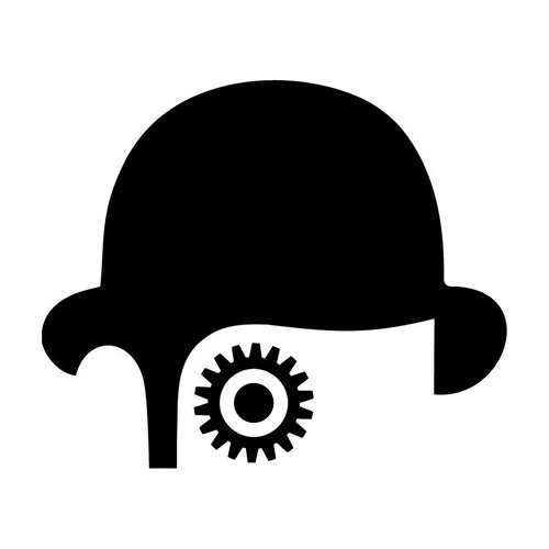Clockwork Orange ALEX Vinyl Decal <div> High glossy, premium 3 mill vinyl, with a life span of 5 – 7 years! </div>