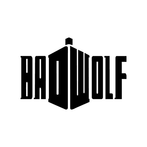 BadWolf DW Logo Vinyl Decal <div> High glossy, premium 3 mill vinyl, with a life span of 5 – 7 years! </div>