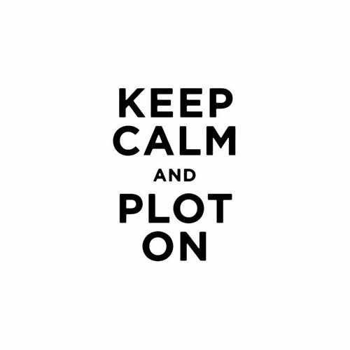 Keep Calm And Plot On Vinyl Decal Sticker Size option will determine the size from the longest side Industry standard high performance calendared vinyl film Cut from Oracle 651 2.5 mil Outdoor durability is 7 years Glossy surface finish