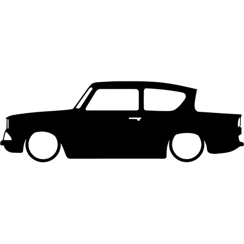 Harry Potter Ford Anglia Vinyl Decal <div> High glossy, premium 3 mill vinyl, with a life span of 5 – 7 years! </div>