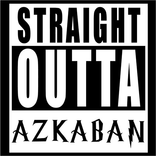 HP Straight Outta Azkaban.Vinyl Decal <div> High glossy, premium 3 mill vinyl, with a life span of 5 – 7 years! </div>