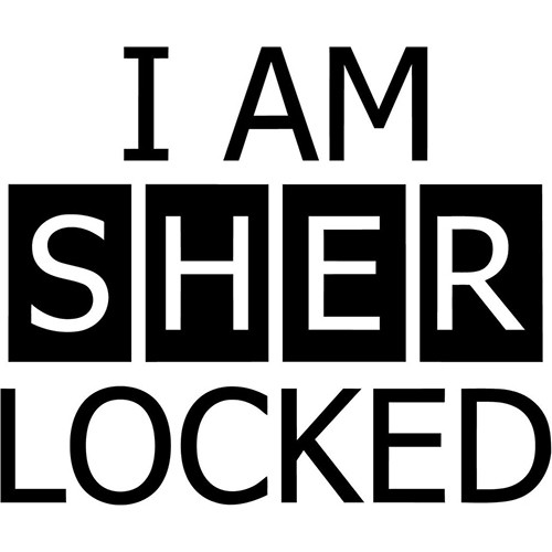 I am sherlocked Vinyl Decal <div> High glossy, premium 3 mill vinyl, with a life span of 5 – 7 years! </div>